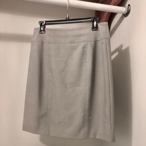 Worthington gray pencil skirt size 12